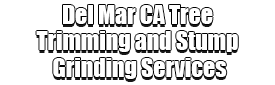Del Mar CA Tree Trimming and Stump Grinding Services Logo-We Offer Tree Trimming Services, Tree Removal, Tree Pruning, Tree Cutting, Residential and Commercial Tree Trimming Services, Storm Damage, Emergency Tree Removal, Land Clearing, Tree Companies, Tree Care Service, Stump Grinding, and we're the Best Tree Trimming Company Near You Guaranteed!